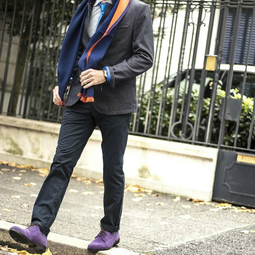 Llego el VIERNES!!! PH: @elephanto_s  #TwinsStyle #purple #shoes #combination #fashiondesign #instafashion #style #fashionformen #fashionstyle #argentina #estilismo #buenosaires #industrianacional #color #photooftheday #menwithclass #zapatos #elegante...