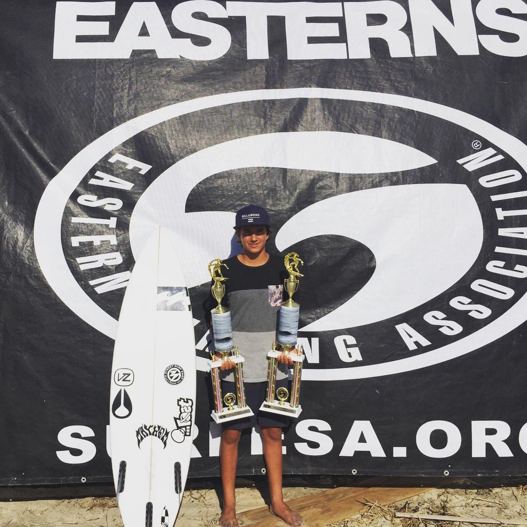 Huge congratulations for our dude @laird_myers for taking the win and title in 2 divisions U14 & U16 East Coast Easterns Champion!