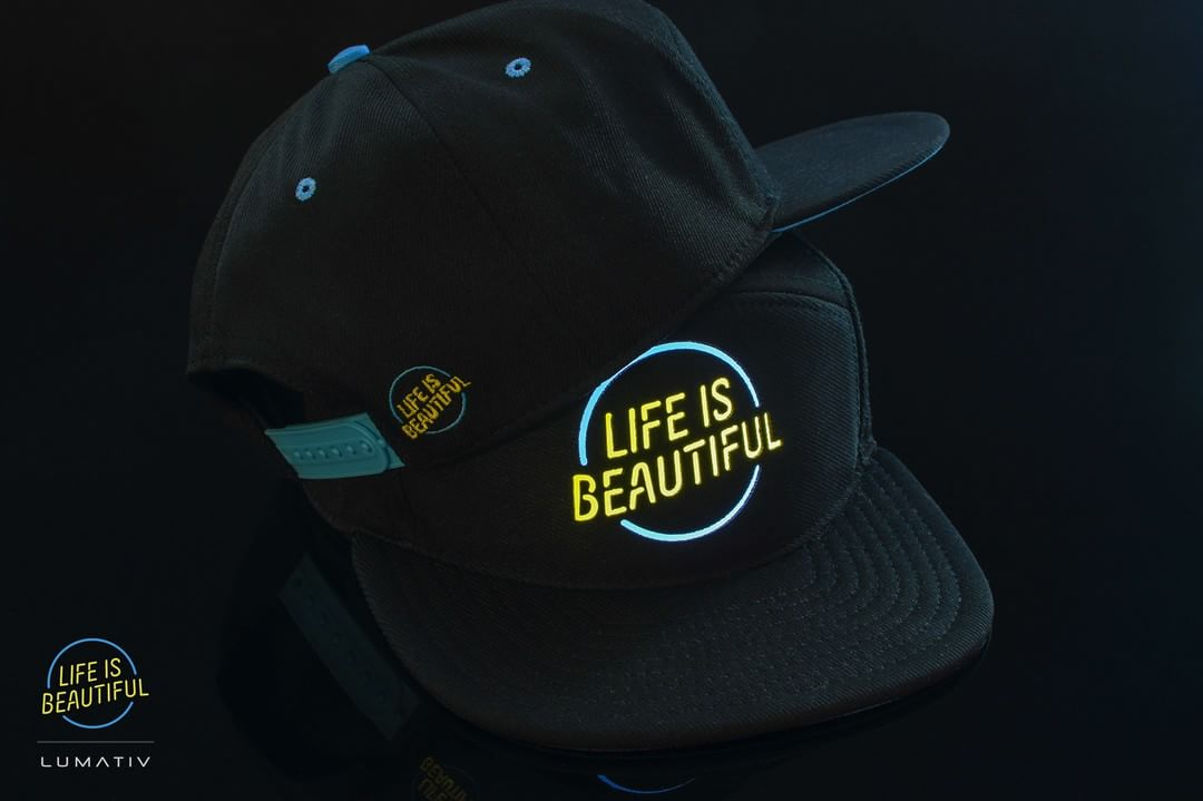 Who wants to light up the iconic Life is Beautiful circle logo!? Quantities will be very limited! Get yours before it's too late! #LimiteEdition #Lumativ #LifeisBeautifulFest