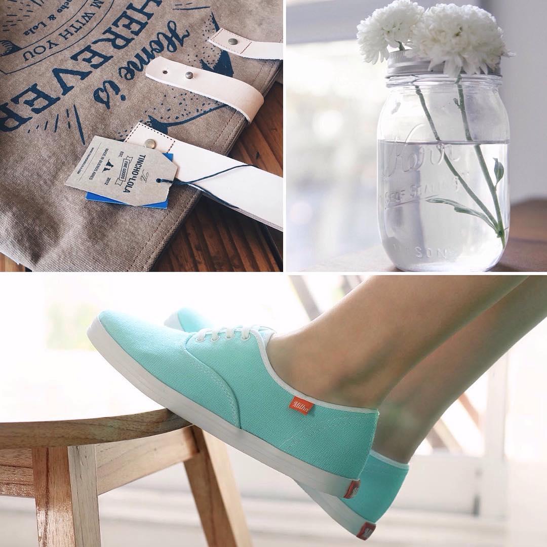 Welcome Spring! Llegaron nuevos productos! Milha™ Colors y bolsos de @tinchoandlola. Vení a la Tienda en Gorriti 4864 (Palermo Soho). 12 cuotas sin interés! #milha #zapatillas #spring #primavera #colors #verano #flores