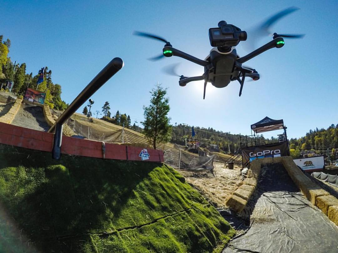 Taking flight with #GoProKarma at #HDHR2016! @bear_mountain #