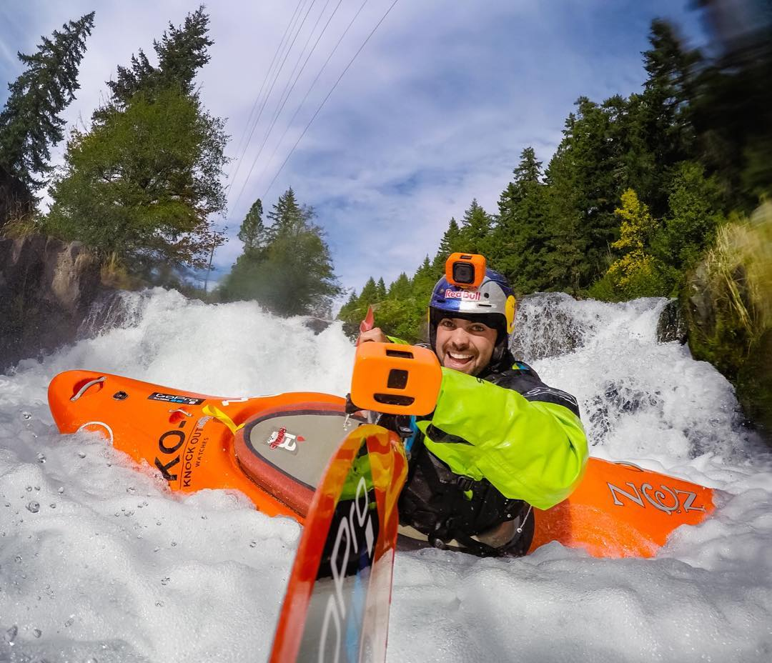 At home in the water, @rafaortizkayak captures his stoke with new #GoPro mounts & accessories.