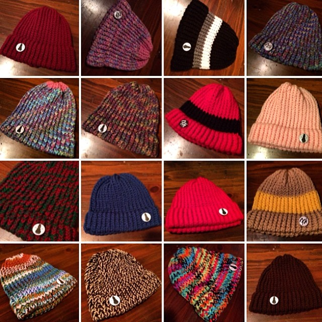 Knitted hat gallery coming to the new site Friday.❄️#frostyheadwear #beanies #beanie #MadeinMinnesota #MadeinMN