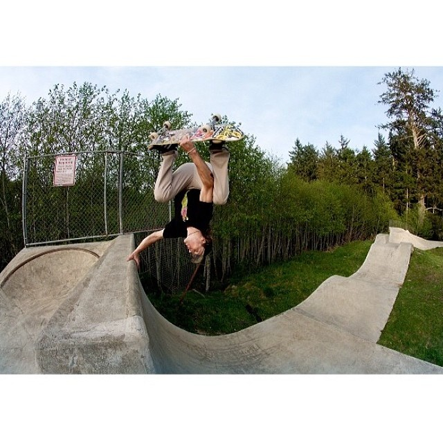 Mission to Lincoln City #Skatepark with @jamiejacobson8 and @ripcityskate . #SpringPlanting