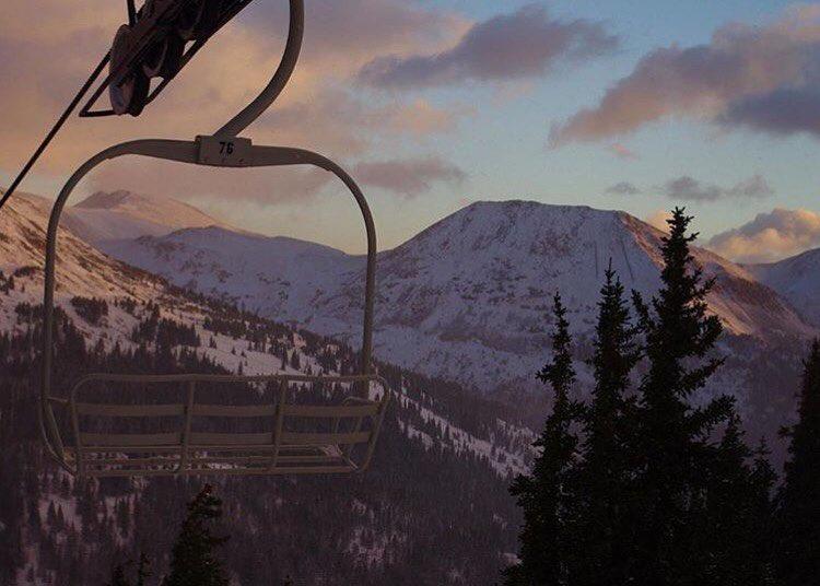 Looks like ski season is just around the corner at @lovelandskiarea . #embracethestorm #winteriscoming #defineyourroute  PC: @dustinschaefer