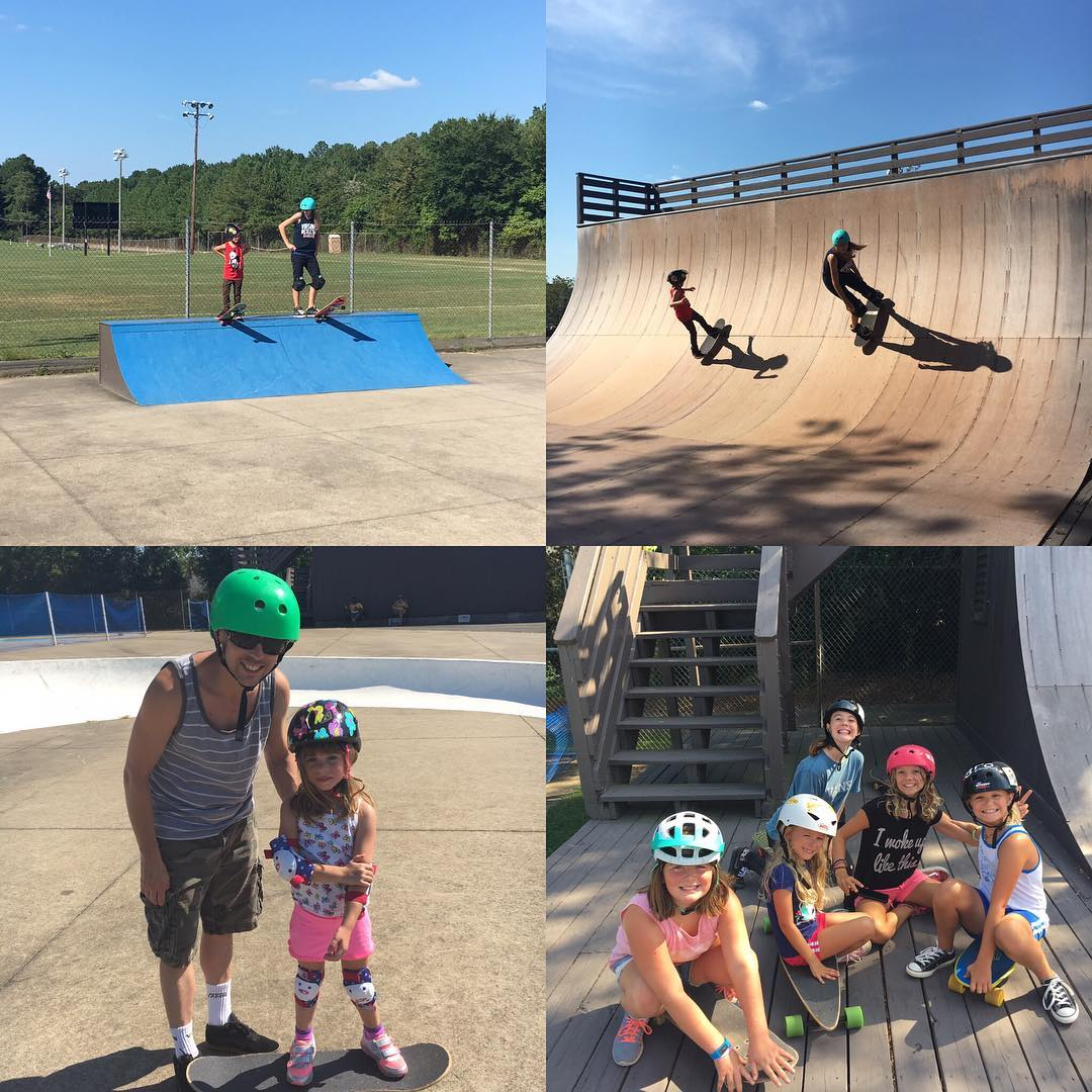 Head over to Laurel Skatepark today to shred with these rad ladies! Session starts at 2 and helmets are required