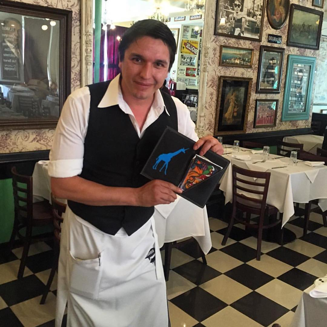"""""""We have a long standing tradition of having a our last lunch in #chile at Liguria in Santiago. It's one of my favorite restaurants in the world. The lunch became extra special this time because we met up with my long time buddy from New Mexico,..."""