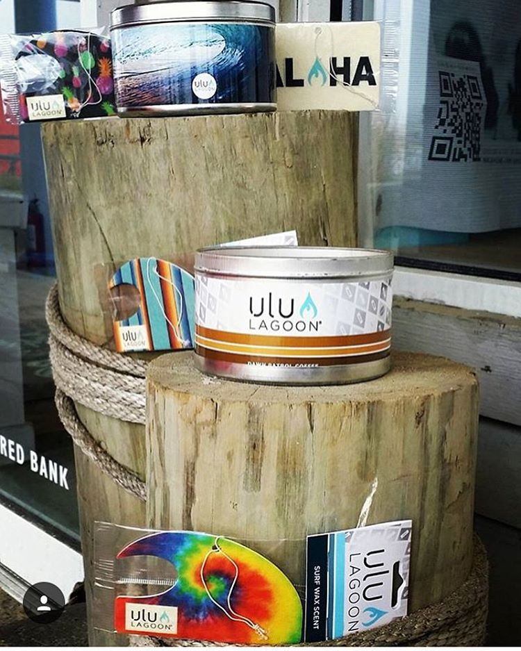 Shared by our long time friends @easternlinessurfshop in Belmar, #NJ , where you can find the full line of the world's first surf wax candle formula from ulu LAGOON! Get some. #lifestyleonwax