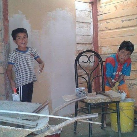 #WhereYourMoneyGoes These two kids, with the help of @waves4dev, our amazing staff, and our one of a kind volunteers, now have a new bedroom to rest their heads after a long of school and surf!!
