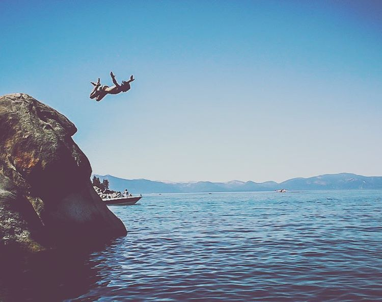 Diving right into the Sunday scaries. _ #thisistahoe