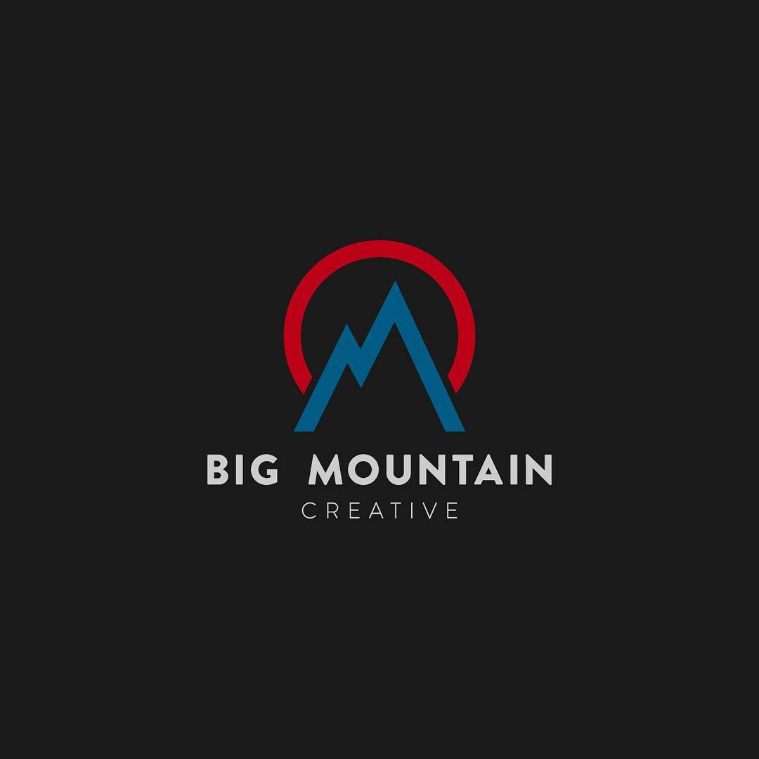 The logo we created for @bigmountaincreative came out great (do you see the BM & C?). They are debuting their first film this week at the 2016 Adventure Film Festival... Sept. 29 - Oct. 1 at @bouldertheater - stop by if you can!