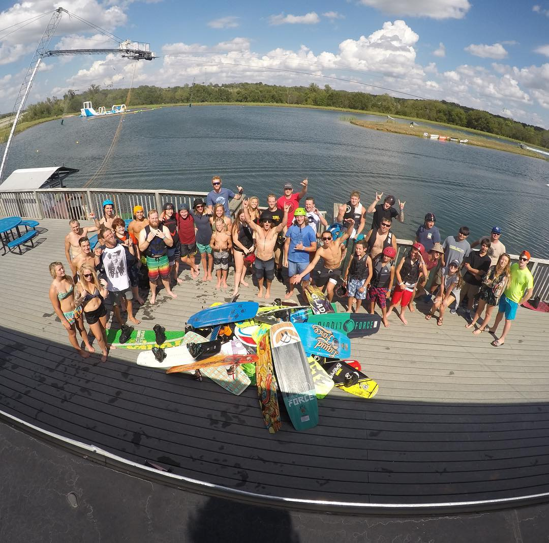 Another @kcwatersports Relentless Weekend is in the books!  Thanks to everyone that came out to join in the good times!
