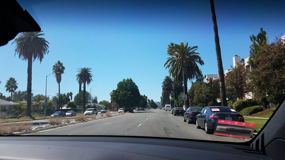 Paseando en #Tesla #XSeries #LosAngles #California #USA