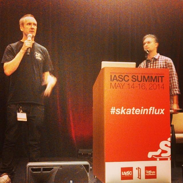 #skateinflux  IASC Skate Summit