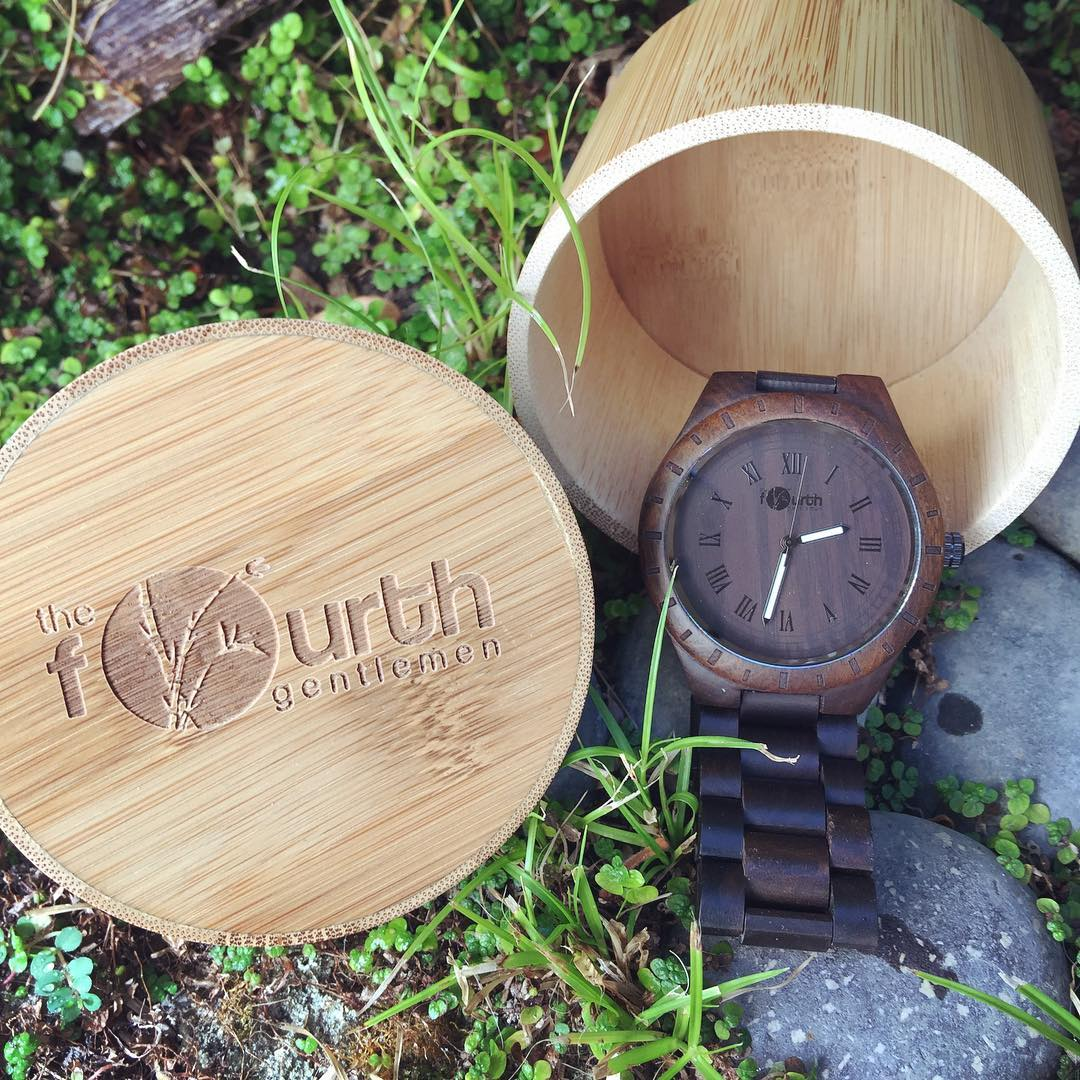 TFG Men's Bamboo Watch Release October 1st! Visit thefourthgentlemen.com ❤️