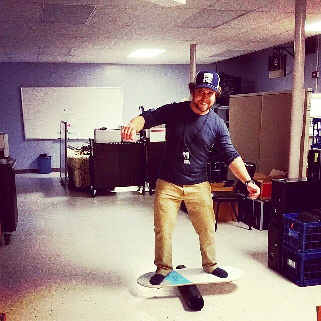 Now that's a fun work environment! Show us your photos with #revbalance ✌