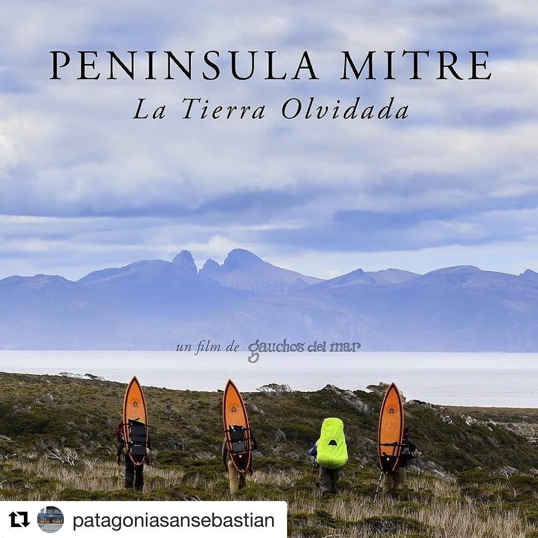 Este viernes pasaremos Peninsula Mitre en Donostia a las 19 hs en @patagoniasansebastian .  Nos vemos!