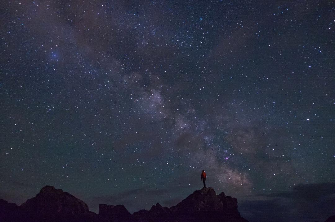 It is truly a humbling moment when you begin to realize how infinitesimally small we all are on a grander scale... this photo illustrates just that.  PC