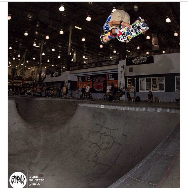 Regram @radballs @heimana_reynolds killed it last night and qualified 2nd . #vanspoolparty this weekend #goheimana ! Heimana wears the S1 Lifer Helmet.