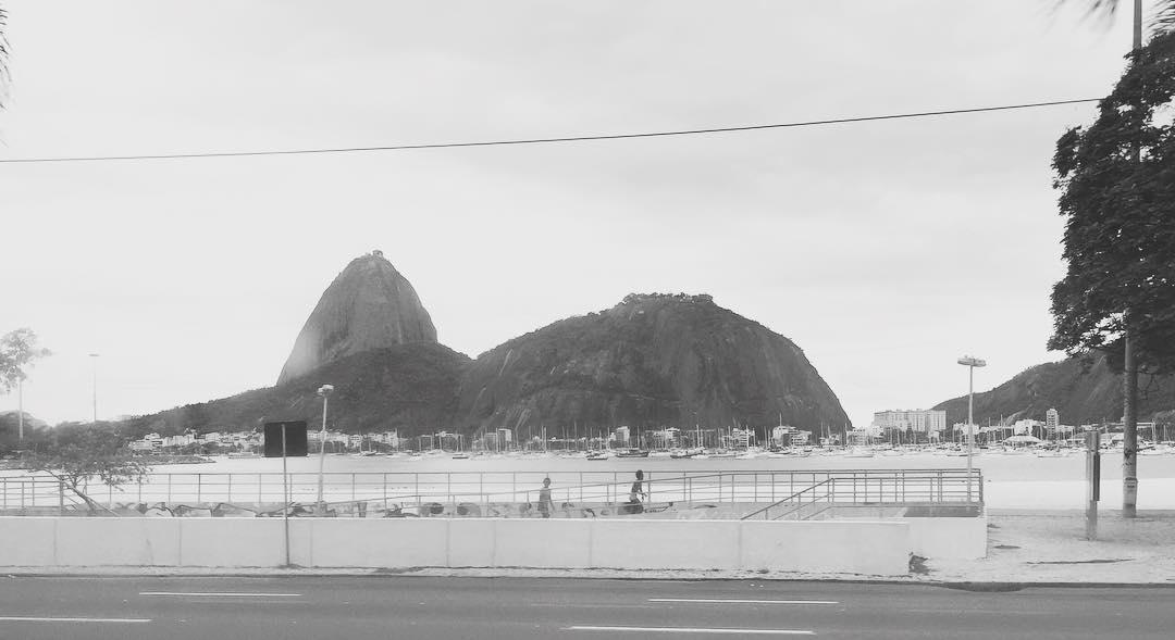 Día gris en Rio de Janeiro