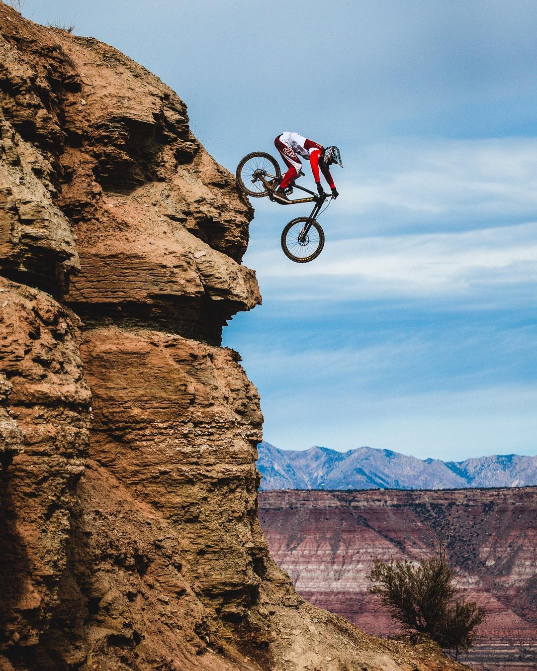 If your friend rode off a cliff…would you?