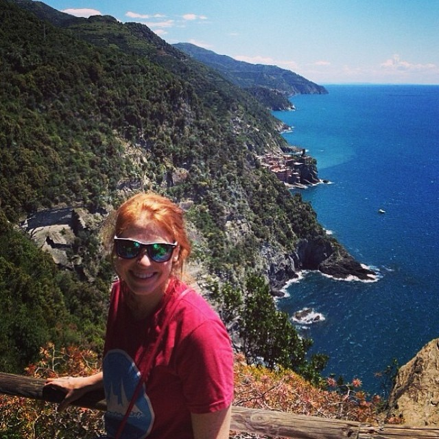 "One of our best #mountainlifeco #brand #ambassadors @crystalcolston4 going #global in #italy #cinqueterre #travel #gobig ""What's Your #MountainLife?"" #climbing #hiking #cycling #downhill #europe #mountains #kayaking #camping #rockclimbing #bouldering..."