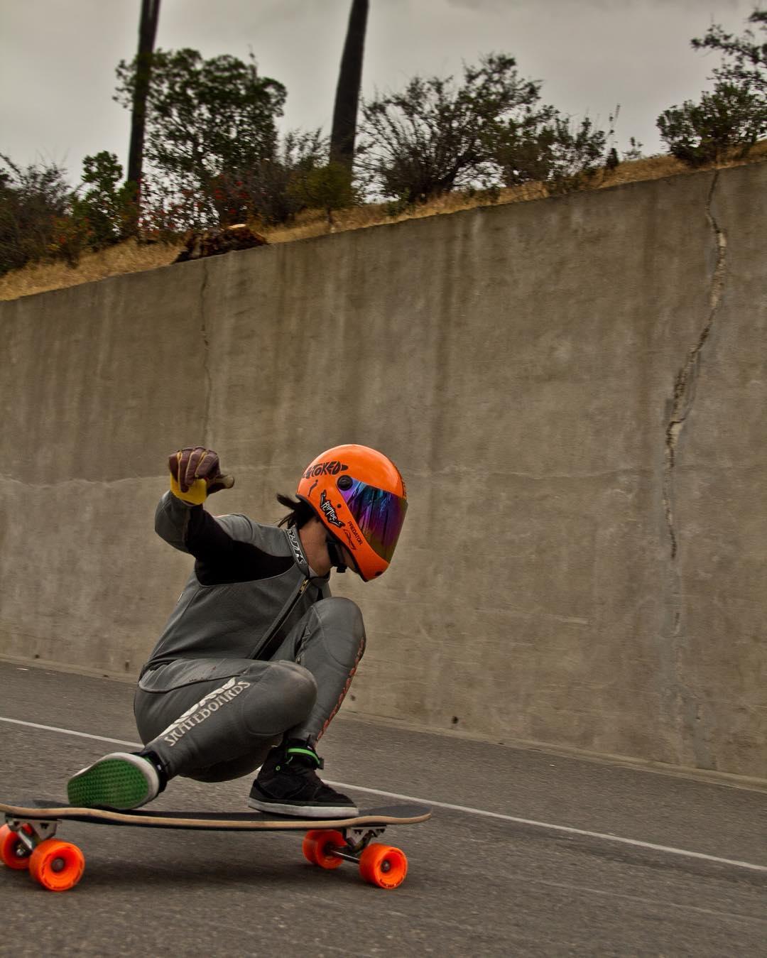 #OrangatangAmbassador and Malibu legend @kylechin sliding left at @catalinaclassic