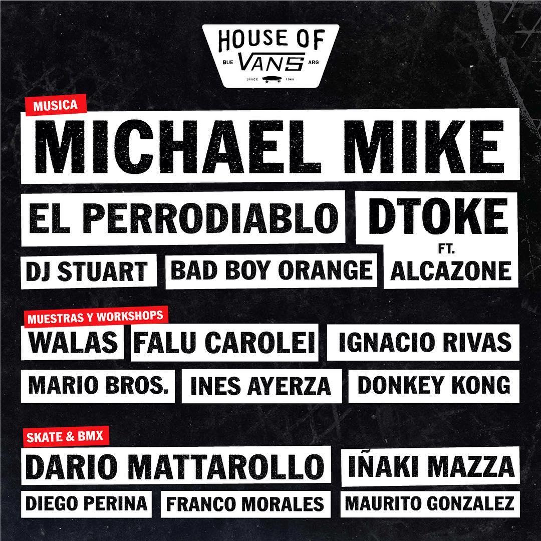 Están todos invitados a la #HouseOfVans Buenos Aires, que el 8/10 abre por única vez. Tickets disponibles en el link de nuestro perfil.