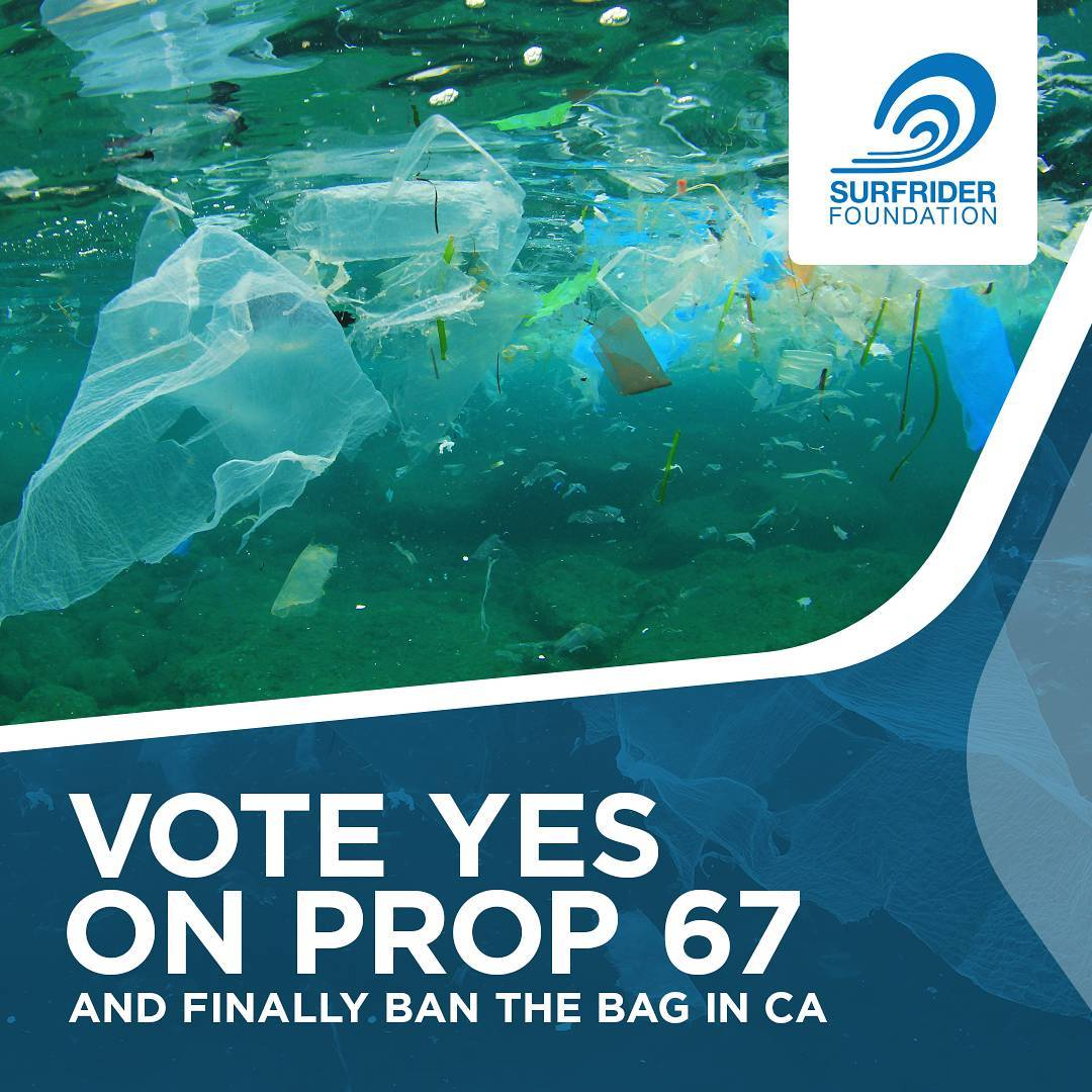 Tonight from 6-9! Join @sfsurfrider for a drink at the Pour House on Polk St as we kick off our #YESon67 campaign. We'll be raffling off reusable bags and having a great time. #banthebag #protectandenjoy #surfriderfoundation #surfridersf #wastefreeOB