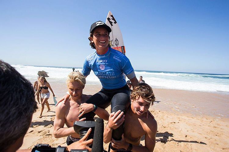 #Court4thewin ! Congrats to @courtneyconlogue on smashing the rest of the competition at the #cascaiswomenspro. @billabongwomens