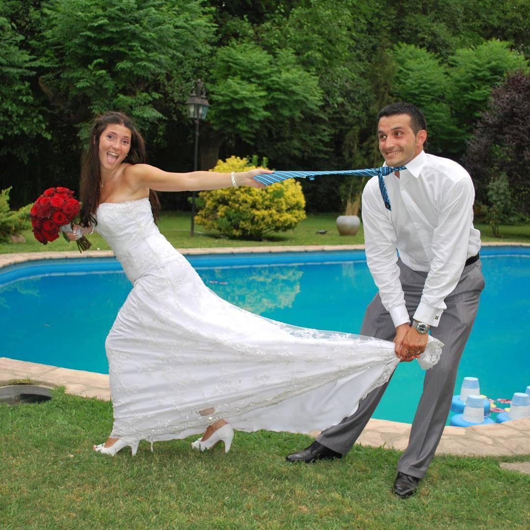 Asi es como empezamos.... imaginate ahora! #6años #novia #weddingdress #wedding #picoftheday #agean_fotografia #ramodenovia #casamiento #fotografia #mywife #quinta #fiesta #novios #protocolo #