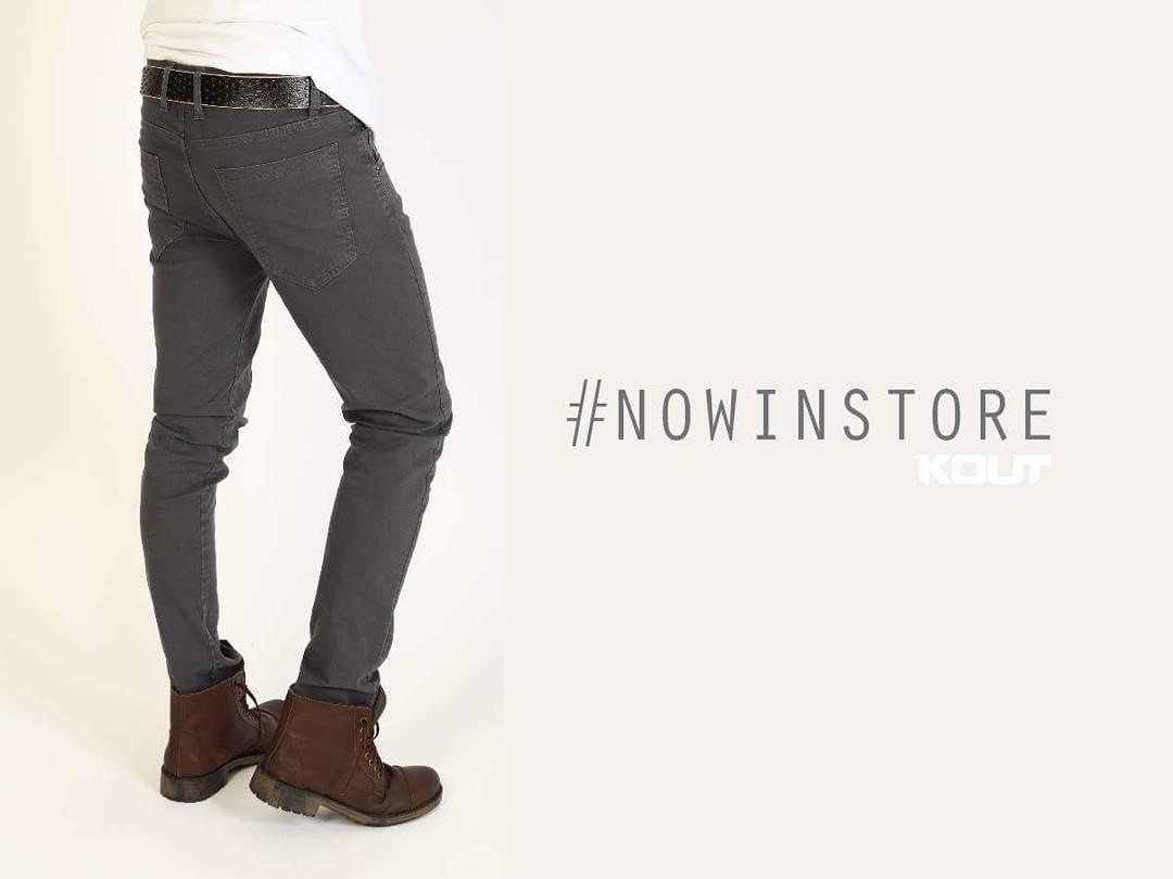 ¿Ya conoces nuestra linea de pantalones para hombre? Acércate a cualquiera de nuestros locales y elegí el tuyo | Aprovecha #HOY la promo #AHORA12 y abona todo en 12 cuotas sin interés!! KOUT | Jeans FW 20.16