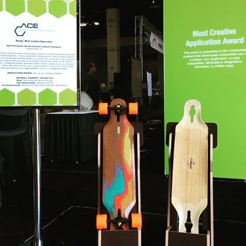 "We at @LoadedBoards are very humbled to be invited to The Composites and Advanced Materials Expo (#CAMx) as finalists in the Awards for Composite Excellence under the ""Design: Most Creative Application"" category for the Loaded Icarus!  We did not win,..."