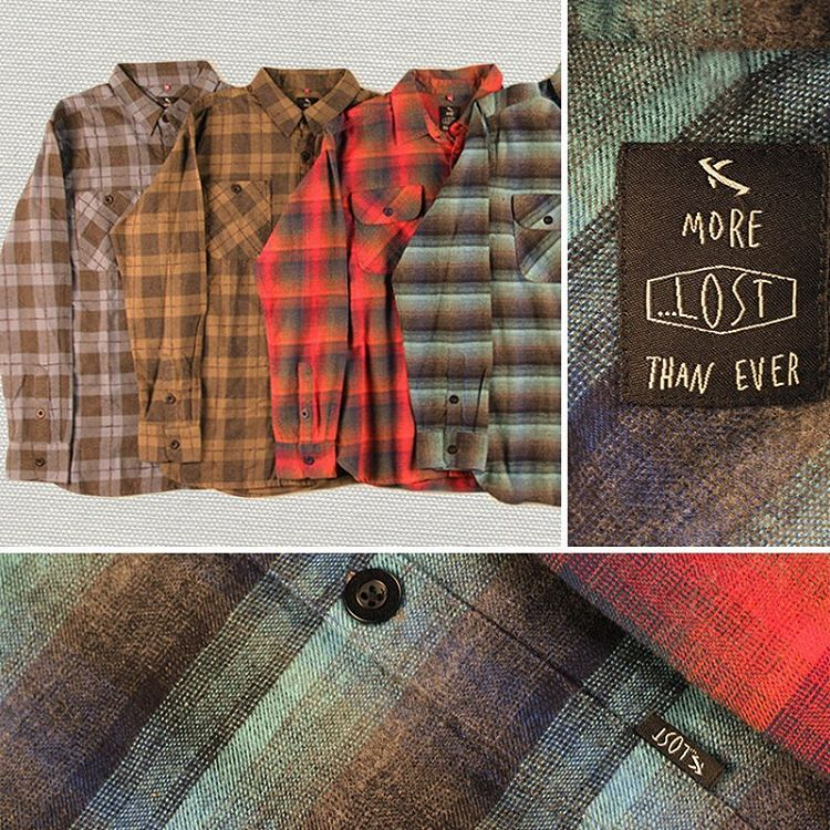 Scuffed and Nocturne flannels from our Fall Collection available now online. Link in bio