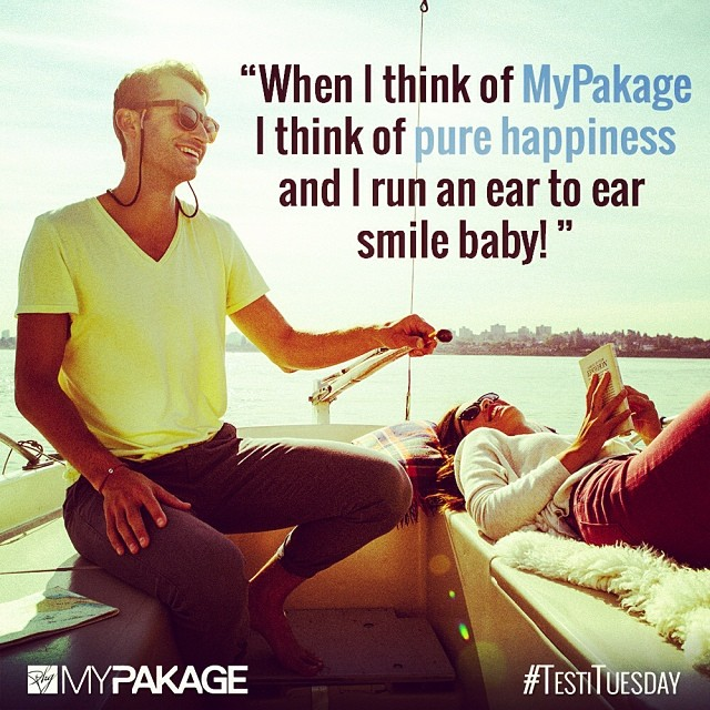 Do you agree? #MyPakage #Happiness #LifeChangers #TestiTuesday