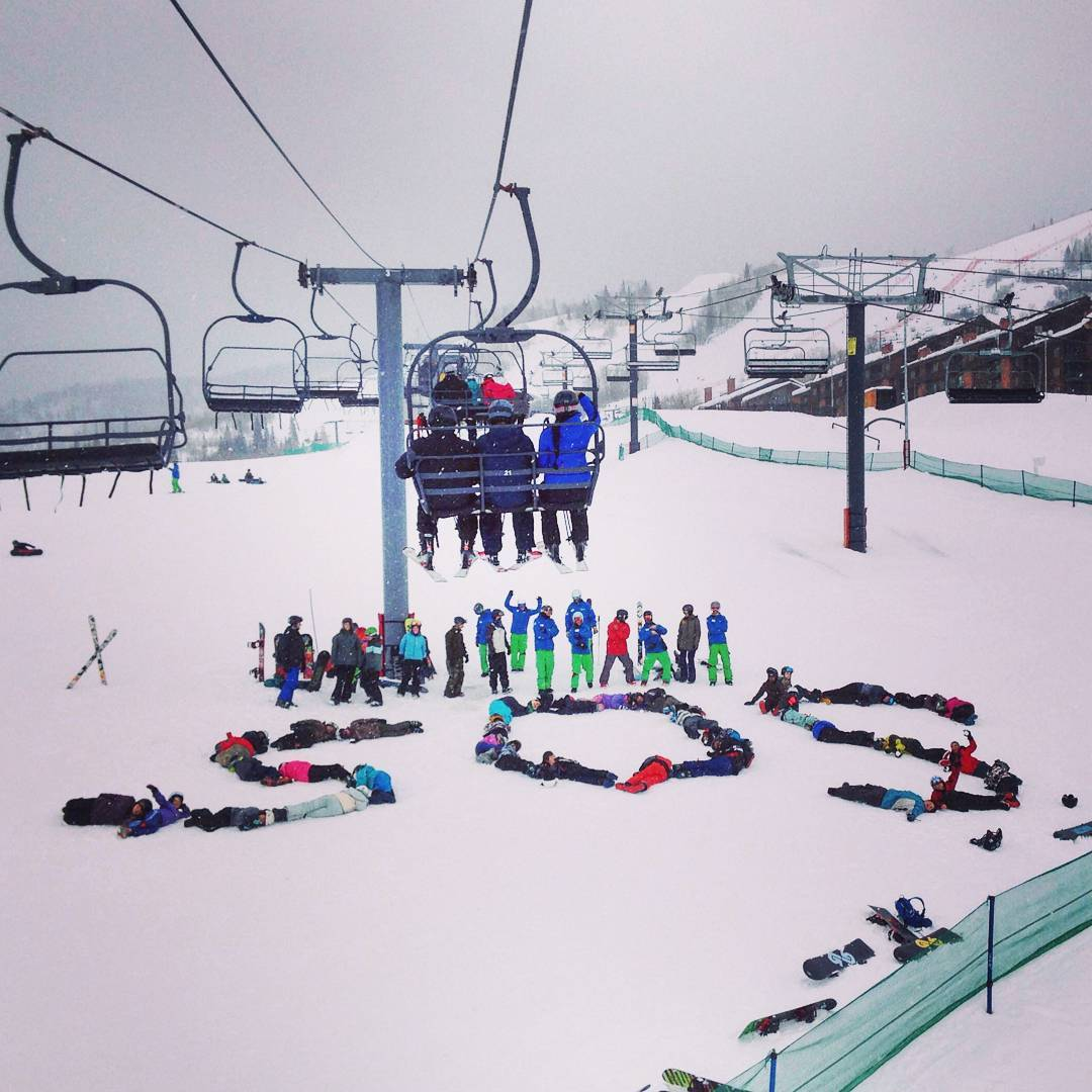 #TBT to @steamboatresort #Wisdom ride day when everybody knew we were shredding! . . . #spreadthelove #inspire #inspiration #inspireyouth #instagood #dogood #fun #volunteer #colorado #mountains #ski #skiing #snowboard #photo #snow #winter