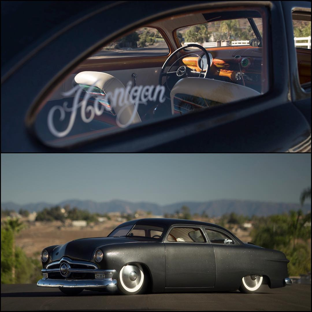 @heathpinter refers to this '49 Ford as his beater... Who can relate?