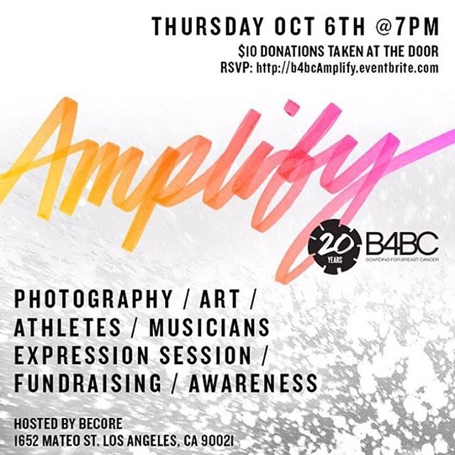 ONE WEEK until Amplify! Click the link in our bio to RSVP today for our epic 20th Anniversary Celebration✨