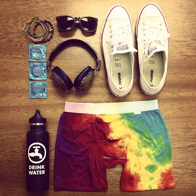 Essentials for staying alive at a music festival... Happy #coachella everyone! @wedrinkwater @woodroze @mypakage ✌️