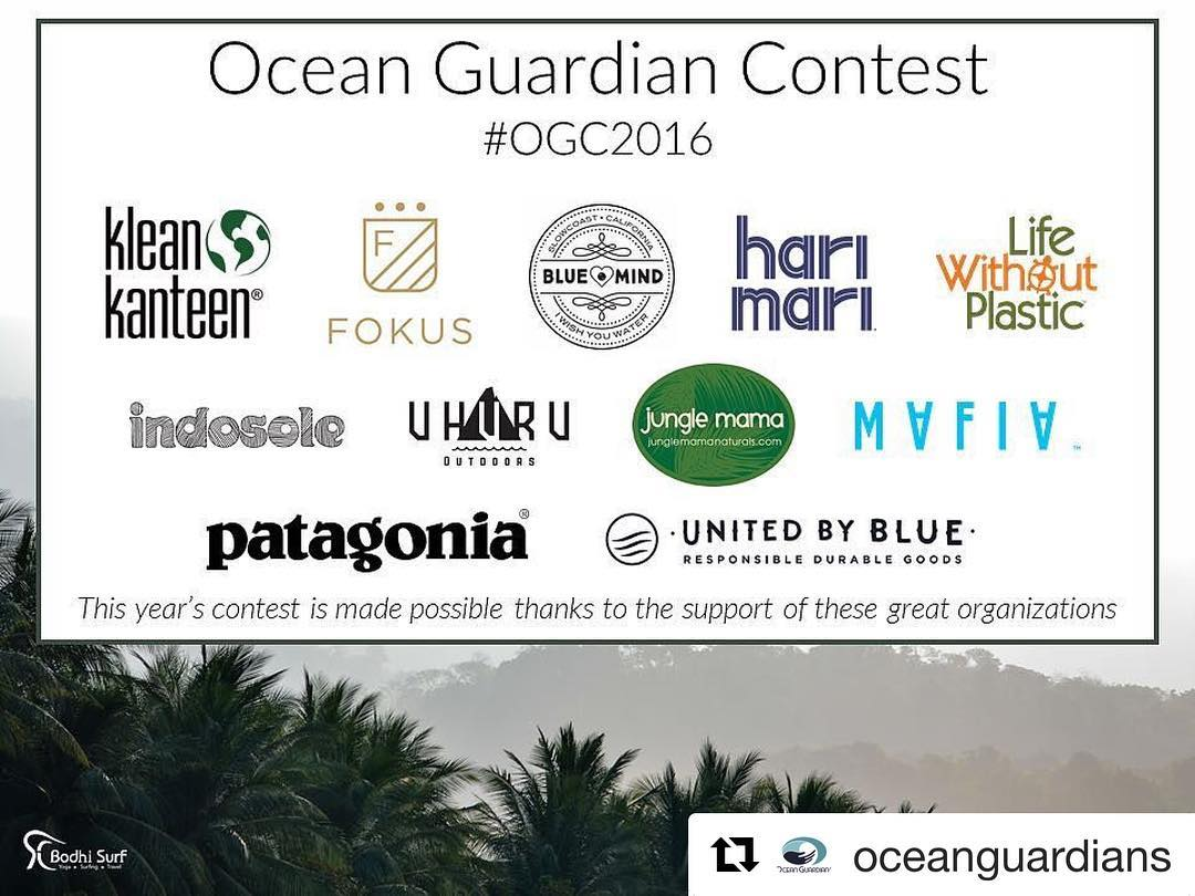 In addition to our Bodhi Sessions surf & yoga camp for two, there are a lot of great prizes in the mix for the #OGC2016! ・・・ We are so very excited to announce the prizes that have been generously donated by this year's contest sponsors. •...