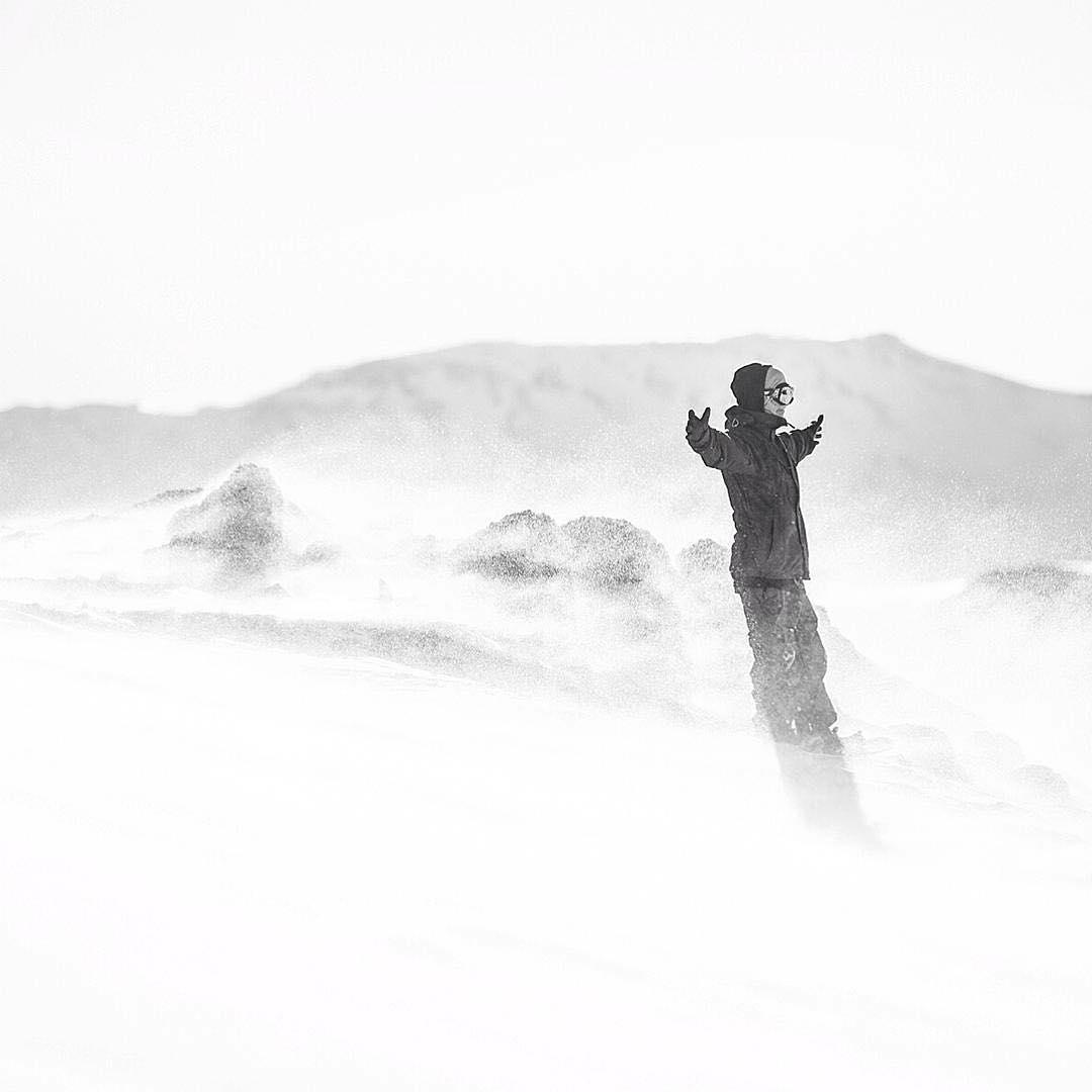 A mal tiempo.. campera Burton. #MejorBurton #ExploraAnon