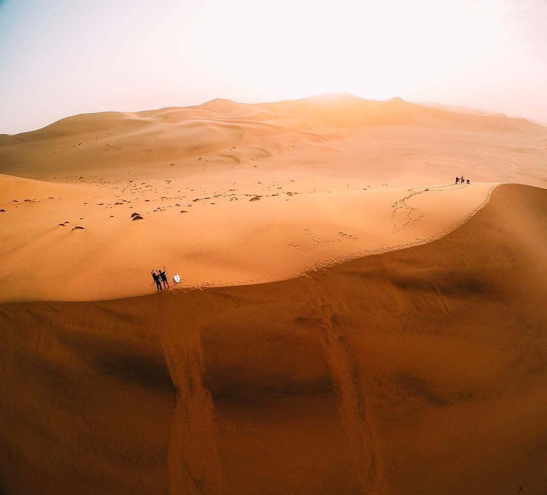 Featured Photographer + #GoPro athlete @anthony_walsh_  About the shot: Camping in the #Namibian desert, one of the harshest places on earth. It was the best surf trip I've ever been on. Walking 30-40 miles per day, #surfing 12-13 hours getting...