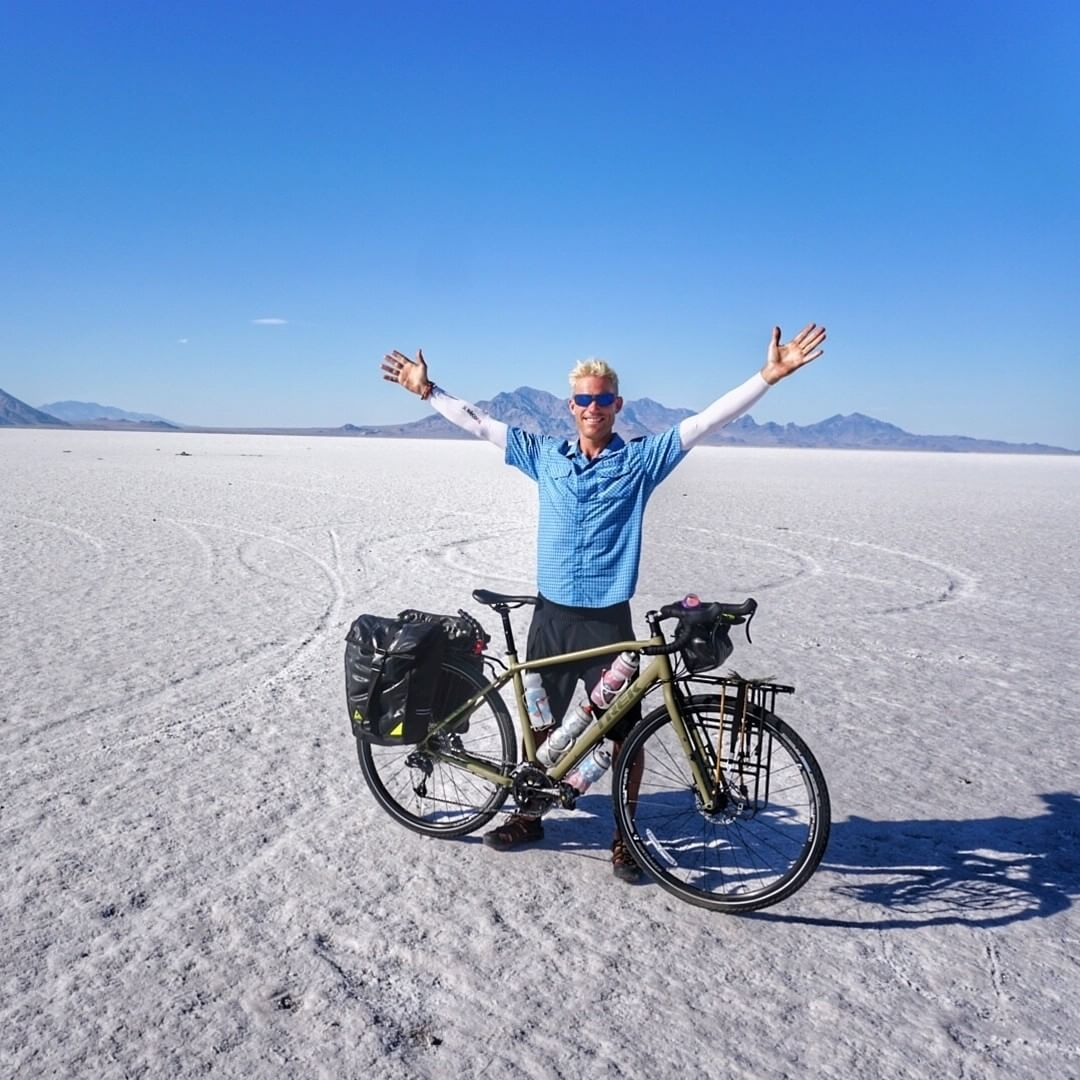 Ever dream of biking to @burningman? Brand ambassador @duzer checked that off his bucket list last month, biking from Boulder, Co to Black Rock Desert. How does he do it? Using his #greengurugear of course! #rideyourbike #adventure #getoutside #upcycle...