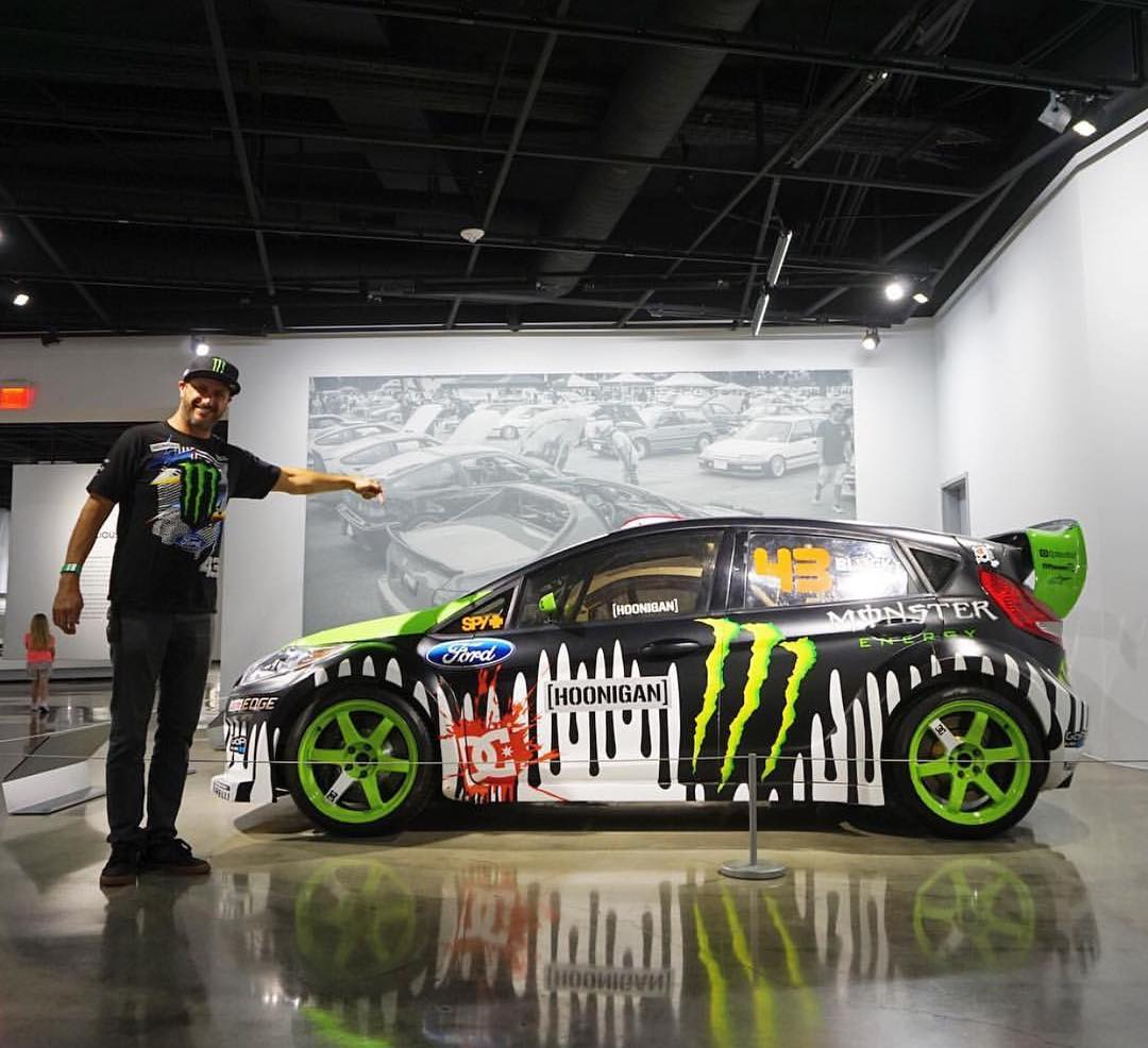 Which was your favorite Gymkhana flick? Get an up close and personal look at the Gymkhana Three Fiesta at the @petersenmuseum any day of the week! #museumhoonage