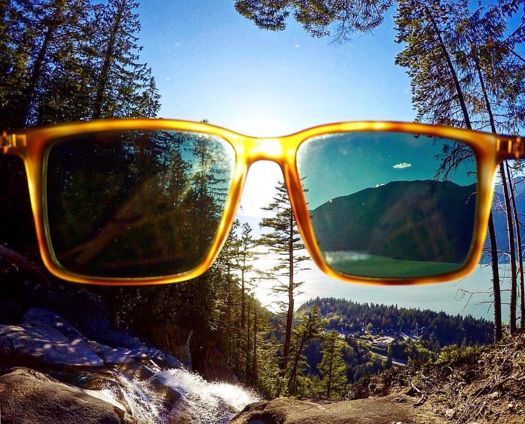 @blair_mckinney knows how to clear things up to get the energy and experience he's looking for  through his WildLife #Polarized lenses and the #Lesmore shades! || #VonZipper #SupportWilLife