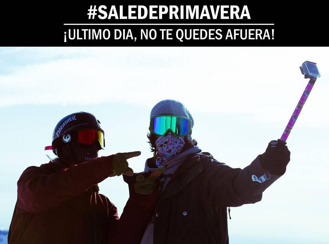 Último día del #SaledePrimavera !! No te quedes afuera! www.zephyrgear.com.ar