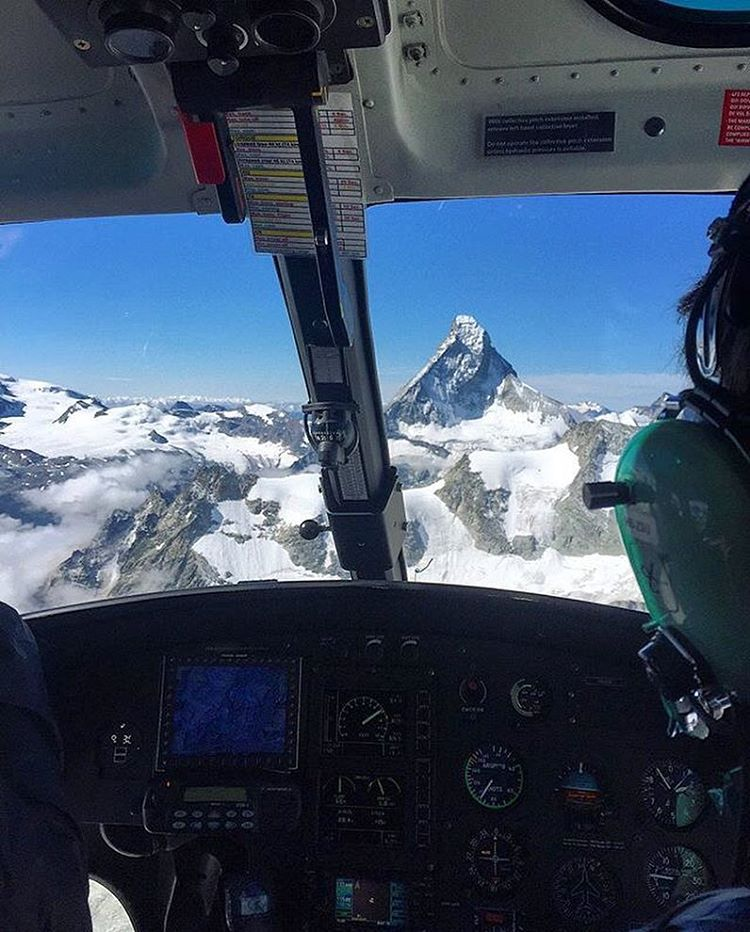 From a recent trip to the Matterhorn with @aporzak1. This one's cool cause his dad was close to summiting the peak at this very moment, marking 50 years since he first completed it. #BA #gettothechoppa