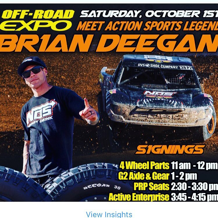 Singing today #offroadexpo @4wheelpartsofficial @prpseats @g2axle @mickeythompsontires @gibsonexhaust