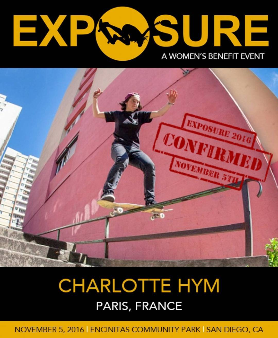 @charlotte_hym is LOCKED IN for our Pro Street Division! See you November 5th!!