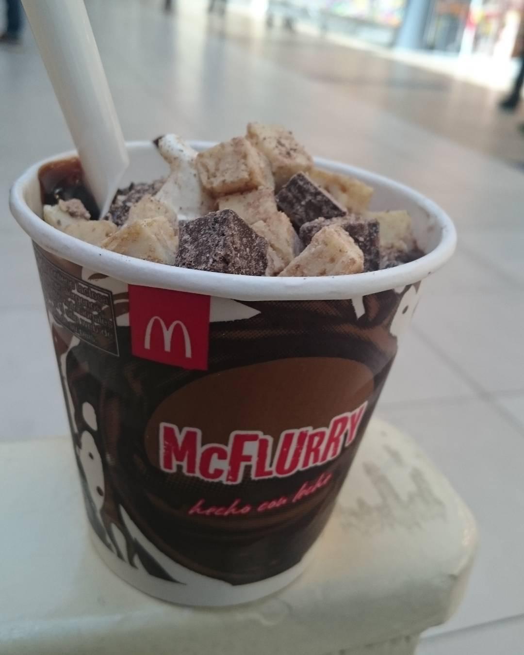 Mmm #mcflurry #abuelagoya